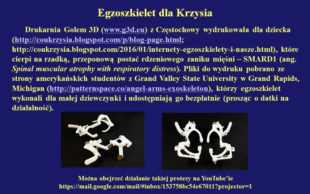 prof. Helena Dodziuk_egzoszkielet_na_wykladzie