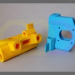 wydruki 3D - elementy konstrukcyjne maszyny CNC