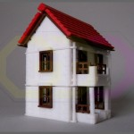 wydruk 3D - makieta domu
