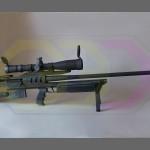 wydruk 3D - makieta karabinu snajperskiego Bor