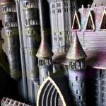 wydruk 3D - makieta zamku