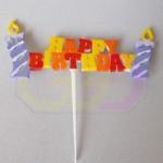 wydruk 3D - ozdoba do tortu