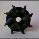 wydruk 3D - turbina pompy chłodziwa