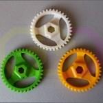 wydruk 3D - zębatki podwójnie skośne