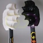 wydruki 3D - ergonomiczne uchwyty w kijkach do nordic walkingu