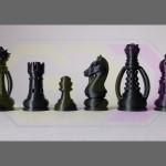 wydruki 3D - figury szachowe