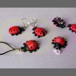 wydruki 3D - zawieszki, kolczyki