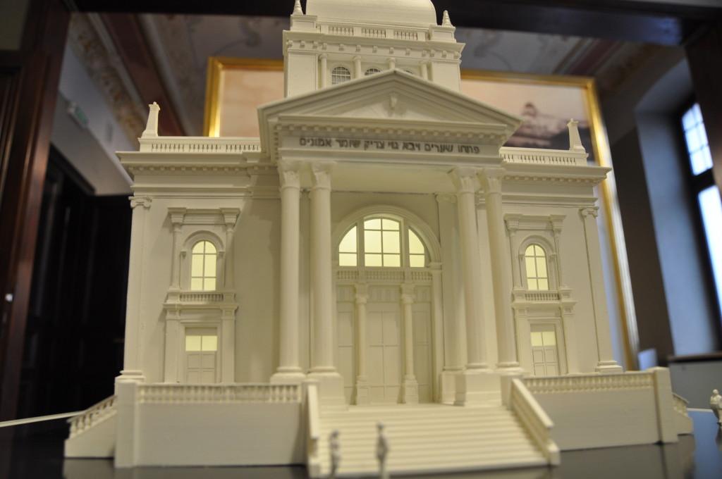 makieta synagogi