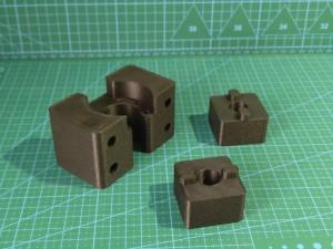 Miks wydruków technicznych wykonanych z poliamidu z włóknem węglowym cd.